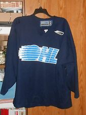 VINTAGE LATE 90'S OHL PRACTICE JERSEY BAUER SIZE 56 ERIE OTTERS FIGHT STRAP