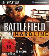 Battlefield: Hardline (Sony PlayStation 3, 2015, DVD-Box)