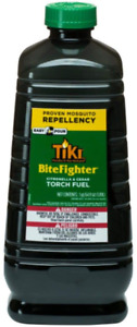 Tiki Brand Bitefighter Torch Fuel, 64 Ounces