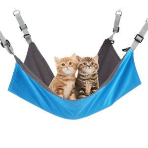 Cat Hammock Small Pet Cage Hanging Bed kitten Ferret Rabbit lounge Waterproof