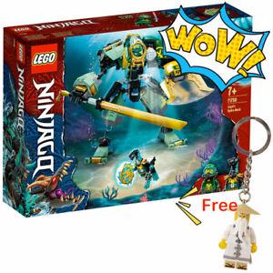 LEGO® NINJAGO® 71750 Lloyd's Hydro Mech + FREE Master Wu Keychain