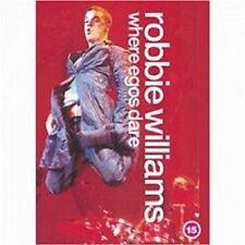 "ROBBIE WILLIAMS ""WHERE EGOS DARE"" DVD NEU"