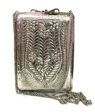 Ethnic Vintage clutch silver brass Metal clutch  bag metal purse Eid gift offer