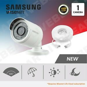 Samsung Wisenet - SDC-9443BC 1080p Weatherproof Bullet Camera w/ 60ft Cable