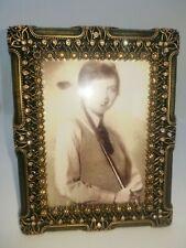 Edgar berebi picture frame Dover Olive w/clear and topaz Swarovski crystals