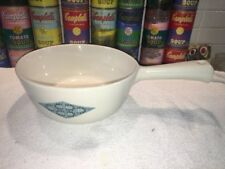 Vintage Iroquois Impromptu Blue Diamonds Sauce Pan Seibel