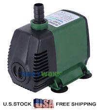 110V Submersible Water Pump 1056.6Gph Fish Water Tank Pond Aquarium Fountain 50W