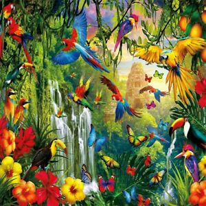 New 1000 Puzzle Birds Jigsaw Piece Pieces Educational puzzle Gift Kids Adults