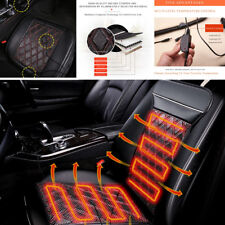 24W Carbon Fiber Far Infrared Physical Therapy Car Seat Heated Cushion Pad 12V