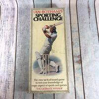 Rare VINTAGE Ian Botham Sporting Challenge Board Game 1980 's Complete | Bad Box