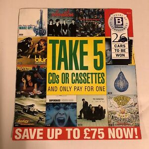 Vintage Britannia 26 Years of Entertainment Music Advertising Record Store Promo
