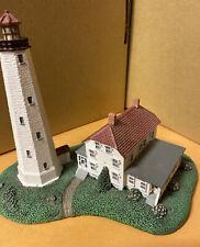 Danbury Mint Sandy Hook Lighthouse 1993 Historic American Lighthouses