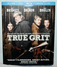 True Grit (Blu-ray/DVD, 2011, 2-Disc Set) ~125