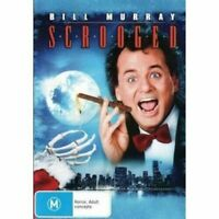Scrooged Region 4 -Rare DVD Aus Stock Comedy New