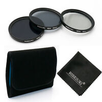 52MM ND Neutral Density Filter Kit ND2 ND4 ND8 for Canon Nikon Camera Lens