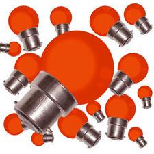 Lot de 50 ampoules led SMD b22 (rouge résistance aux chocs 2W (équiv.15W) g45