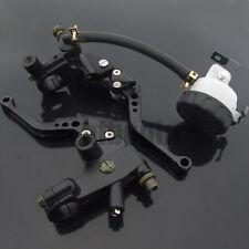 """7/8"""" Motorrad Bremshebel + Kupplungshebel Universal Bremszylinder 22mm Lenker"""