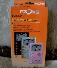 FZONE, FMT-600 METRO - TUNER (BLACK)  - ITEM NEW!!!!