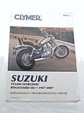 Clymer 87-07 Suzuki VS1400 Intruder Boulevard Service Repair Maintenance Manual