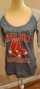 Genuine New Red Sox Baseball T-shirt For Women, Medium