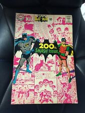 Batman 200 1968 Silver Age Neal Adams Cover Joker Dc Classic Comic