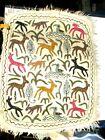 Vintage Hand Made Numdha Wool (Alpaca) Rug W/ Tag
