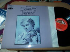 MOZART: Violin concerto n°6 + Concertone   Menuhin Bath FO /EMI stereo France LP