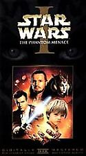 Star Wars Episode I: The Phantom Menace VHS 2000 Widescreen Collectors Edition