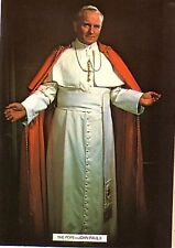 Postcard showing The Pope John Paul II elected pope 16th October 1978