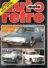 AUTO RETRO 56.1985. STUDEBAKER 59.66. BMW 507. ROVER P5. SOLEX. DS 21 BARBERO.