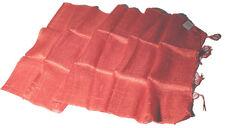 BLAZER SCHAL- feine edle 100% Rohseide natürlicher edler Glanz lachsfarben