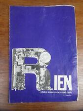 revista RIEN NOSOTROS NO SON Rien VAMOS A SER TODOS No1 1971 Extreme Izquierda