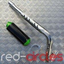 Verde CRF70 tamaño Pit Bike CNC Sistema De Escape 125cc 140c 160cc pitbike