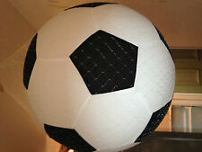 MEGA BALL. GIANT INFLATABLE FABRIC COVERED BALL. FOR FOOTBALL/BEACH/GARDEN
