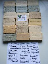 18 Bars Goat Milk Soap Happy Goat Creamery Pure Essential Oil bulk direct cheap