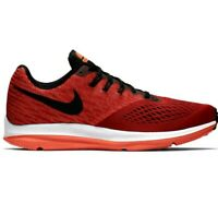 NIKE ZOOM WINFLO 4 Men's Shoes Size 11 Running Gym Red/Black 898466 601
