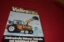 Valmet Valtra VL1100 VL1100 HK Tractor Dealer's Brochure DCPA2