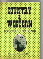 Country&Western-For Piano&Keybord Music book