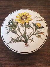 VILLEROY & BOCH Adonis Vernalis Spring Pheasant's Eye Floral Covered Dish Box