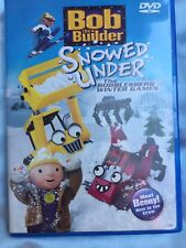 Bob the Builder - Snowed Under: Bogglesberg Winter Games (DVD, 2007,preowned)