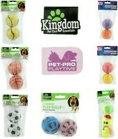 Dog Play Balls Rubber Chase Chew Fetch Bite Dog Toy Pet Dog Rubber Balls 6cm