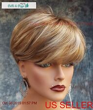 Madison Monotop Wig Color Nutmeg F  Classic High Volume Wedge HOT STYLE 525