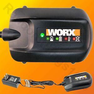 WORX WA3742 Genuine 20V MAX Li-Ion Battery Charger for WA3520 WA3525 WA3575