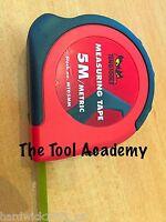 Teng Tools Tape Measure METRIC 5 Metre 5M (19mm width)