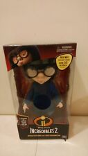 Disney Pixar Incredibles 2 Interactive Edna Mode Doll Talking Voice Recognition