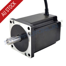 Nema 34 Stepper Motor 8.2Nm 6A 4 Wires 14mm Key-way Shaft CNC Mill Lathe Router