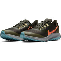 New Nike Air Zoom Pegasus 36 Trail Sequoia Mens Running Shoes Olive [AR5677-303]