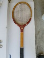 vintage antique 1900s *The Rival* wooden tennis racquet