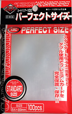 KMC Proteges Cartes - Standard - Perfect Size (100 Sleeves) Kmc Neuf