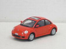 VW New Beetle Turbo in rot, ohne OVP, Hongwell/Cararama, 1:43